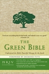 Why not toss out your conventional Bible and replace it with a new Green one?